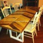Diy Recycled Pallet Dining Tables Things
