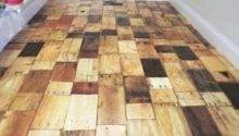 Diy Recycled Pallet Wood Flooring Ideas