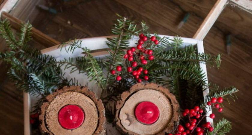 Diy Rustic Christmas Decoration Ideas Tutorials