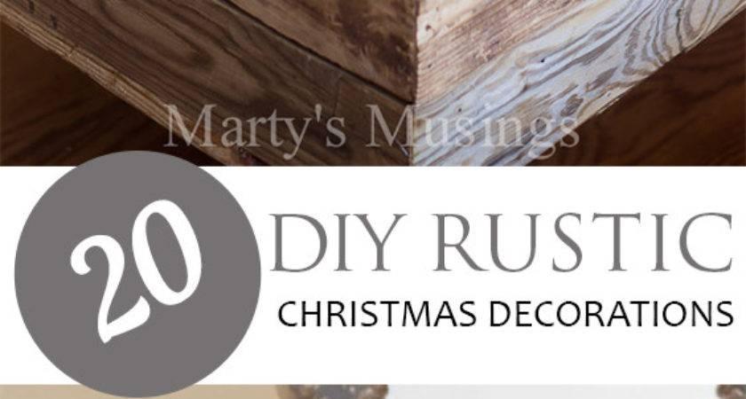 Diy Rustic Christmas Decorations Pickled Barrel