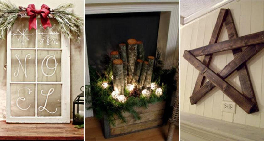 Diy Rustic Christmas Decorations