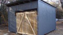 Diy Shed Made Old Wood Pallets Eco Snippets