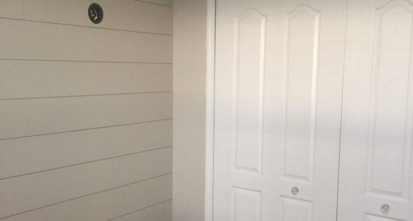 Diy Shiplap Nursery Wall Frills Drills