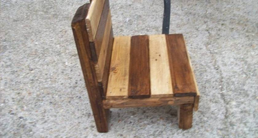 Diy Small Pallet Chair Kids Pallets