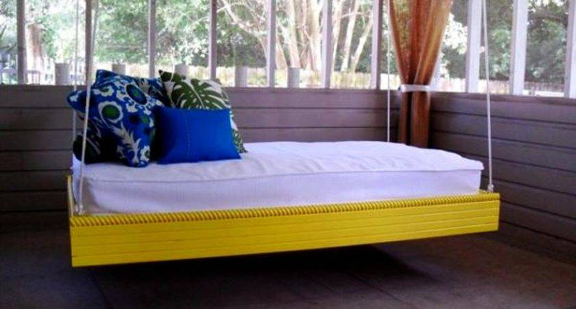 Diy Swing Bed Ideas Enjoy Floating Mid Air Homecrux