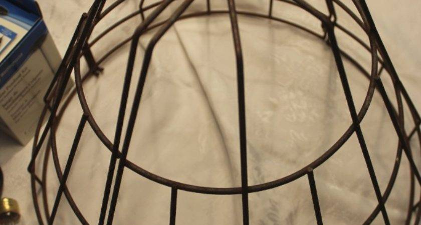 Diy Wire Basket Light Fixture New House Home
