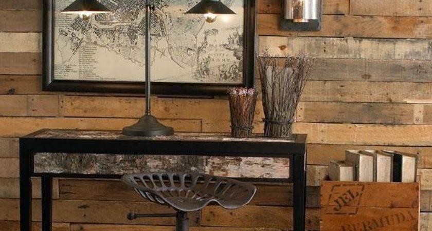 Diy Wood Pallet Wall Makeover Furniture Plans