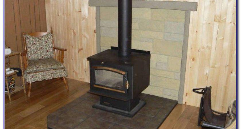 Diy Wood Stove Floor Protector Flooring Home Design