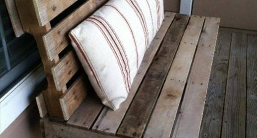 Diy Wooden Pallet Benches Pallets Designs