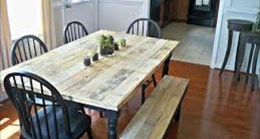 Diy Wooden Pallet Kitchen Table Dining