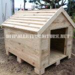 Dog House Built Palletsdiy Pallet Furniture Diy