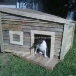Dog House Out Pallets Recycled Things