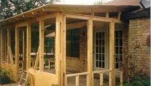 Doors Windows Screened Porch Plans Vintage