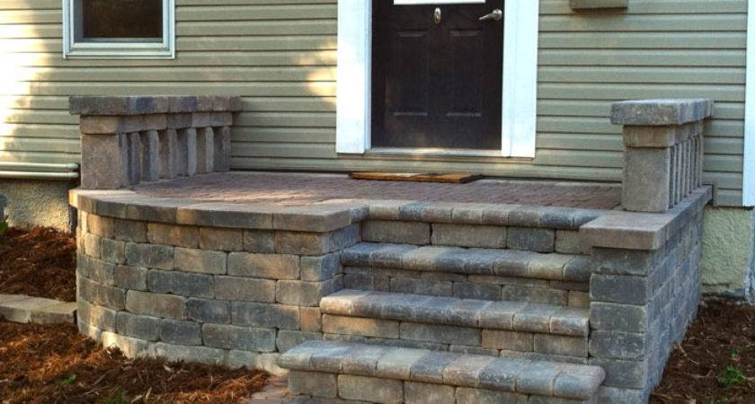 Doty Island Front Steps