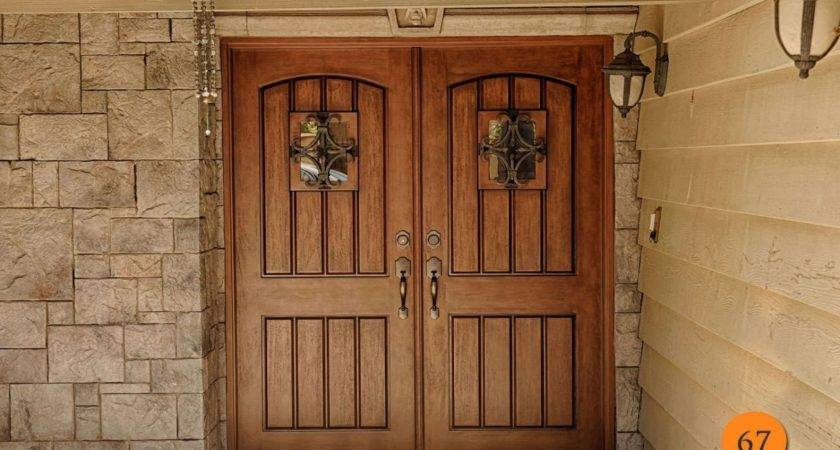 Double Wide Exterior Doors Ideas