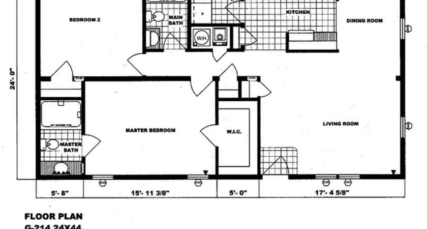 Double Wide Floor Plans Homes