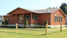 Double Wide Log Cabin Mobile Homes Joy Studio Design