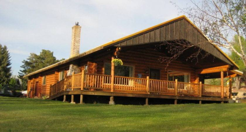 Double Wide Log Homes Mobile Bigger Living Space