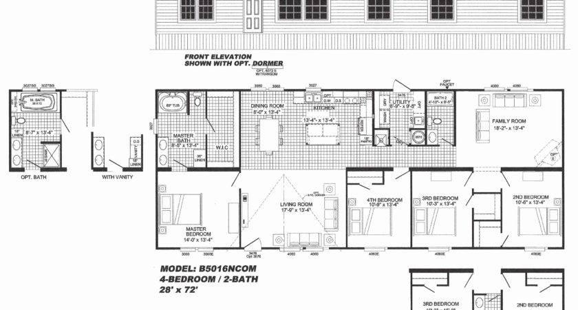 Double Wide Trailer Floor Plans Unique Best
