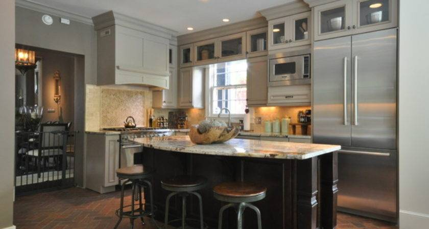 Downtown Mobile Alabama Historic Home Kitchen Remodel