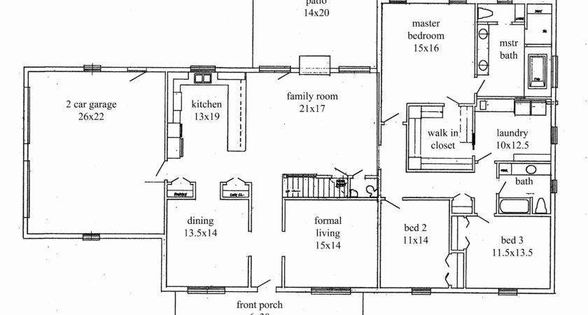 Draw Home Addition Plans Awesome Ranch House