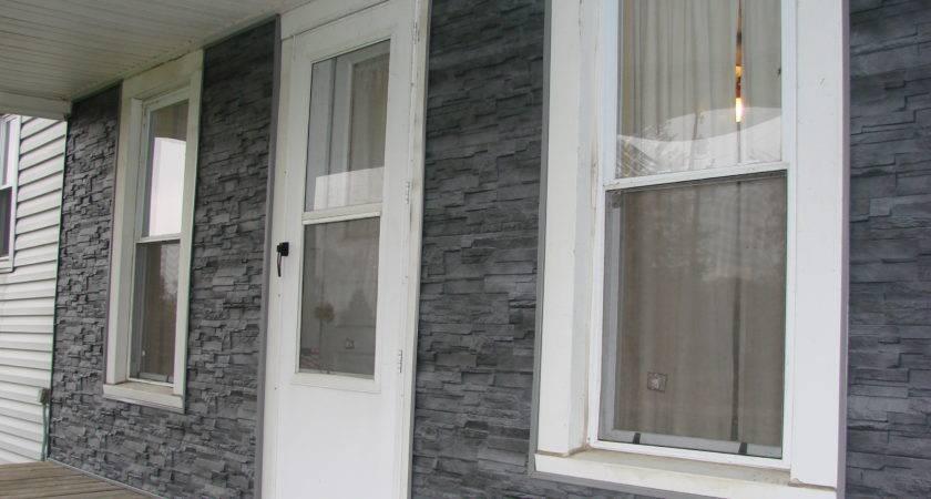 Dry Stack Stone Siding Vinyl Sherwood Ohio
