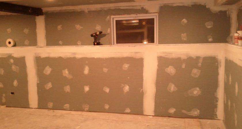 Drywall Basements Basement Part Running Some