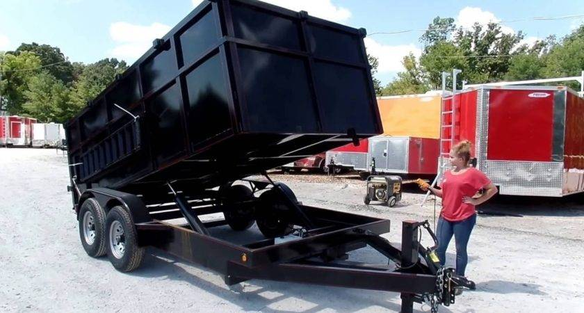 Dump Trailer Hydraulic Roofing Sides