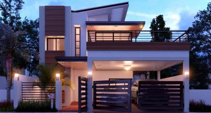 Duplex House Design Concept Home