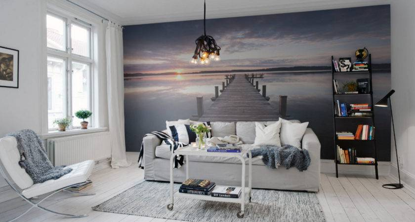 Easy Accent Wall Ideas Your Living Room