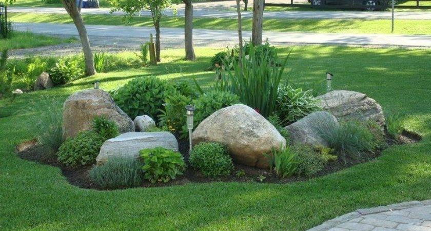 Easy Ideas Landscaping Rocks