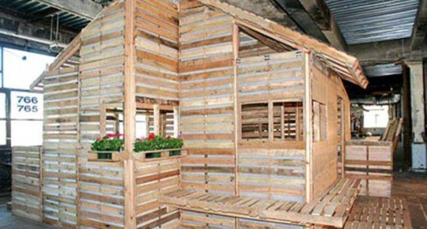 Eco Architecture Living Pallet House Beam