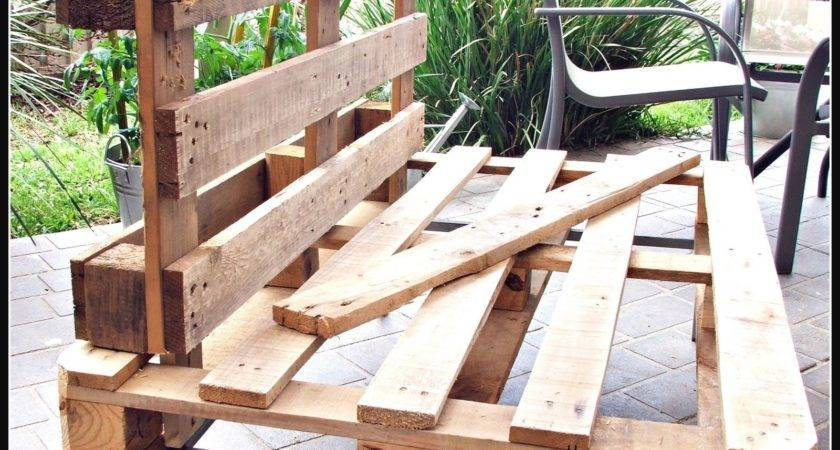 Elegant Make Patio Furniture Out Pallets