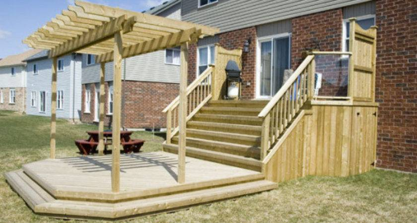 Elevated Deck Plans Wooden Keyboard