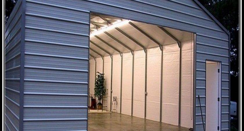 Enclosed Metal Carports Home Amp Kitchen Prestigenoir