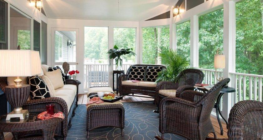Enclosed Patio Ideas Decoration Latest Home Decor
