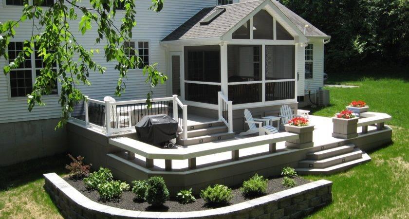 Enclosed Porch Deck Installation Lincoln University