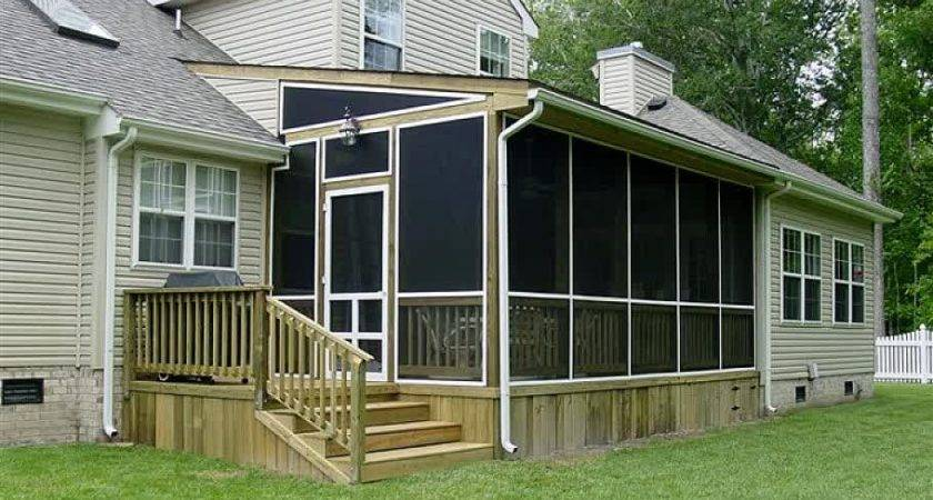 Enjoy Contended Relaxing Moments Designing Screened