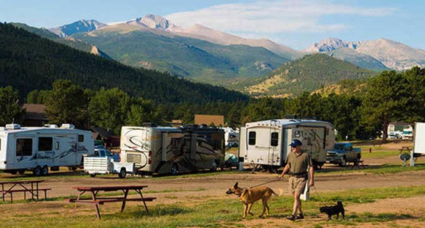 Estes Park Campgrounds Parks Places Stay