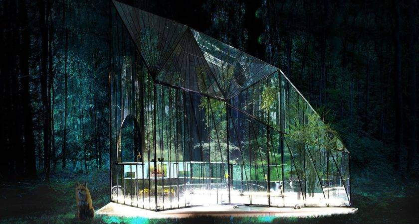 Ethereal Glass Pavilion Redefines Modern Greenhouse