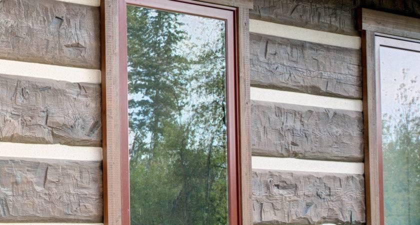 Everlog Concrete Log Siding Profiles Colors
