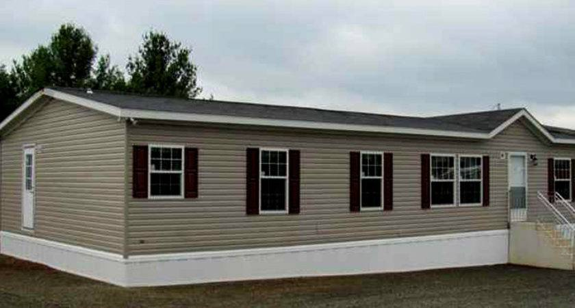 Example Double Wide Mobile Home Model