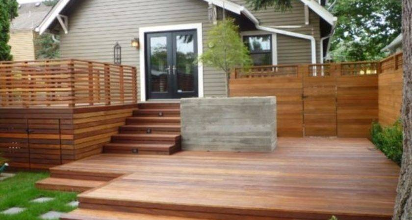 Exterior Design Decks Presented Your Bungalow