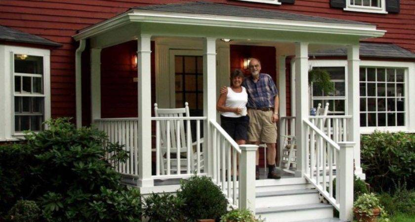 Exterior Front Porch Railings Ideas Small House