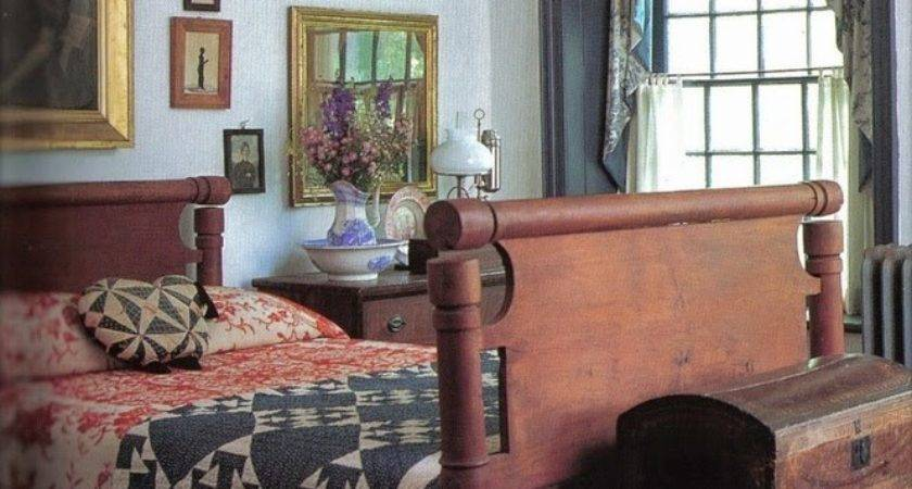 Eye Design Decorating Colonial Primitive Bedrooms