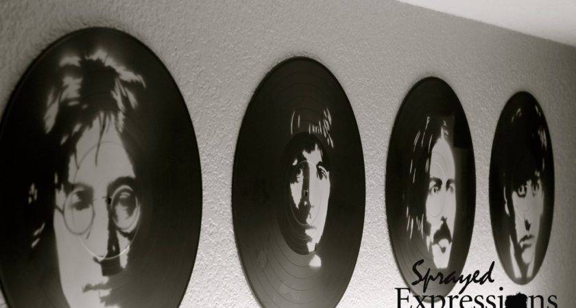 Fab Vinyl Record Painting Collection