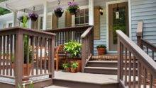 Fabulous Front Yard Decks Patios Outdoor Spaces
