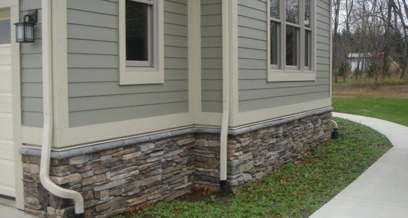 Famous Fake Rock Siding Since Wooden Houses