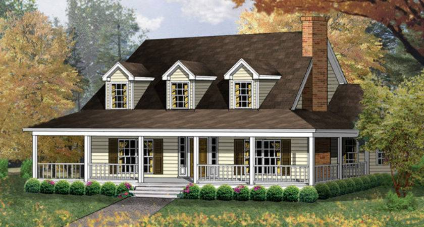 Farmhouse Plans Country House Home Designs