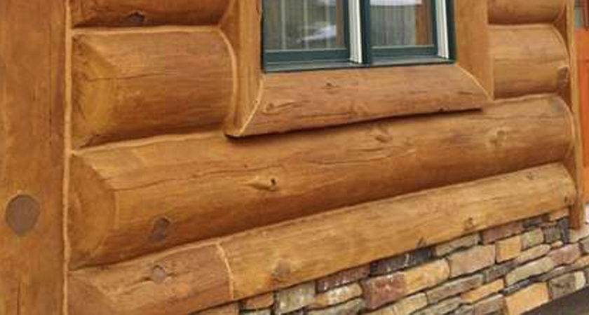 Fast Hassle Concrete Log Siding Installation